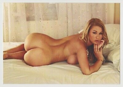Postcard Pinup Risque Nude Girl Stunning Beauty Extremely Rare Post Card 8355