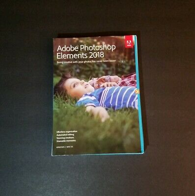 Adobe Photoshop Elements 2018 for Windows PC / Mac OS Photo Shop PSE NEW IN BOX