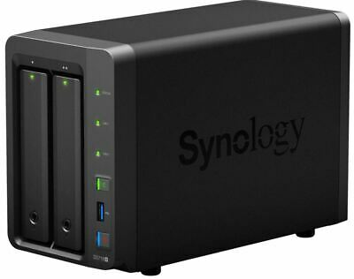Synology DiskStation DS718+ 2-Bay 3.5' Diskless 2xGbE NAS (Scalable) (SMB),Intel