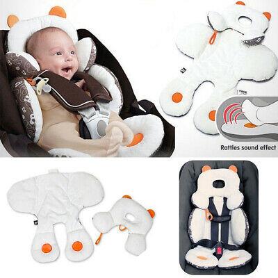 US Infant Baby Stroller Car Seat Pillow Cushion Head Body Support Pad Pop Mat