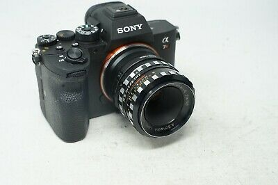 SONY E MOUNT ADAPTED KONICA 50mm 1.7 HEXANON PRIME LENS ALL A7 NEX