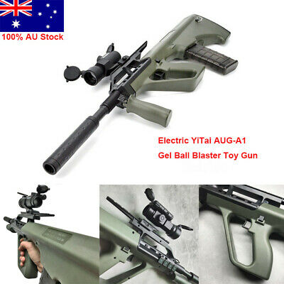 Electric YiTai AUG-A1 Gel Ball Blaster Toy Gun 7-8mm Water Bullet Mag-Fed Toy AU