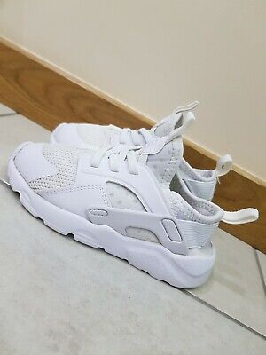 Kids Nike Huarache Triple White Size Uk 9.5