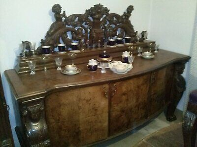 Old antique vintage furniture from 1920s