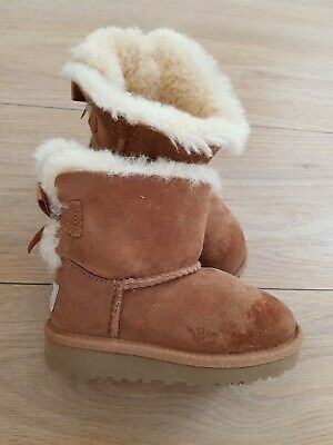 Girls UGG Brown Boots Size Uk 7
