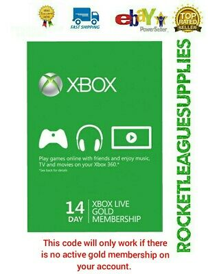 14 Day Gold Live Trial Membership Digital Download Code 🔑 for Xbox One/Xbox 360