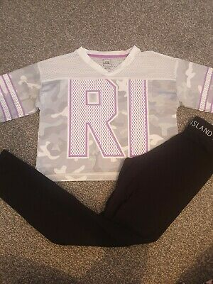 Girls River Island Outfit Age Age 9-10/ 11-12