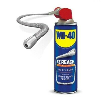 WD40 Flexible Straw system multi-purpose lubricant 400ml Pack of 4 FREE DELIVERY