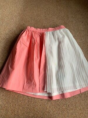 No Added Sugar New With Tag Pink Pleat Skirt 9-10 Year