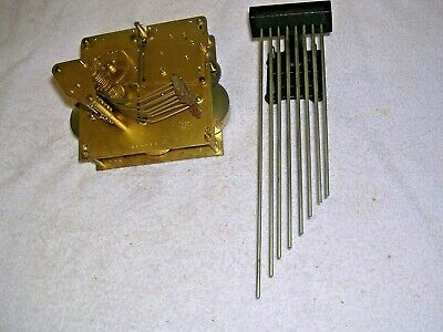 Clock  Parts  ,  8 Hammer Movement +Chime,Gwo