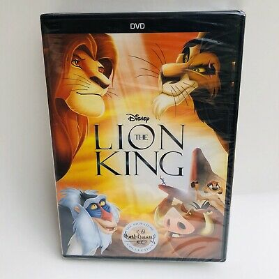 NEW factory sealed Disney The Lion King (DVD,1994) signature collection