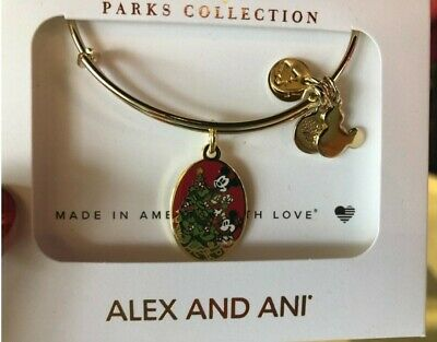 Disney Mickey's Very Merry Christmas Party 2019 Alex And Ani Bangle Brand New In