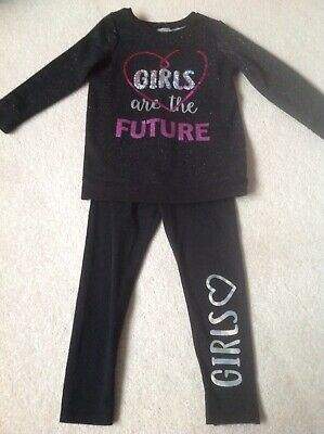 Age 4-5 Jumper And Leggings Set. Worn Once.