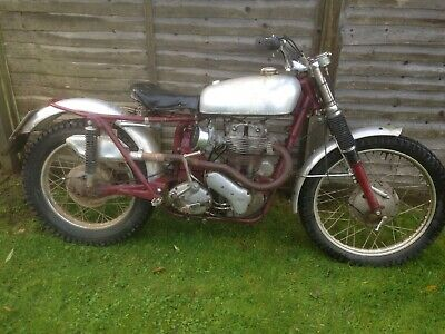 ARIEL 350cc BARN FIND PRE65 TRIALS MOTORCYCLE Re advertised due to time wasters