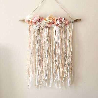 Wall Hanging Nursery Flower