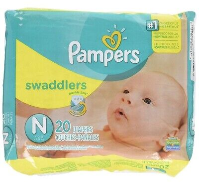 pampers swaddlers newborn 100 count (5 20 count packs)