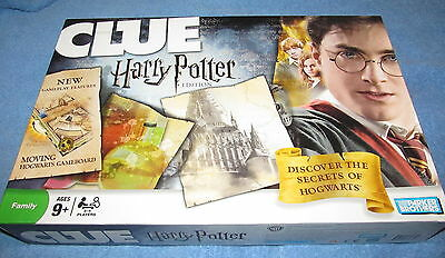 Clue Harry Potter Edition board game Parker Brothers 2008 --- 100% Complete