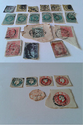 Antique British Stamps Job Lot Late 19th Early 20th Century