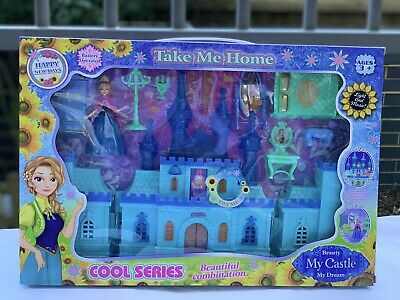 Frozen Elsa Ice Musical Castle Play Set With Music Great Xmas Gift