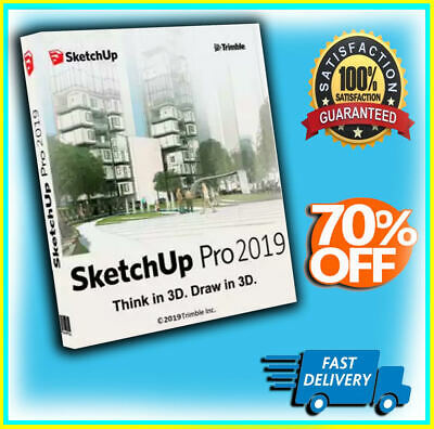 SketchUP Pro 2019 - Lifetime Activation - Fast Delivery- INSTANT DOWNLOAD-