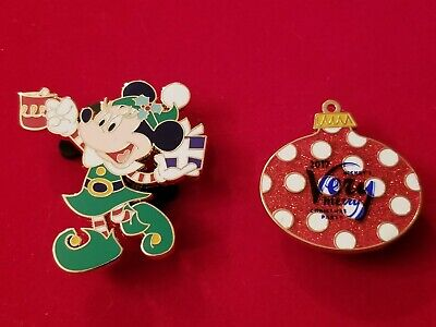 Disney Pin  2017 Mickey's Very Merry Christmas Party MVMCP LE 5300 Minnie Mouse