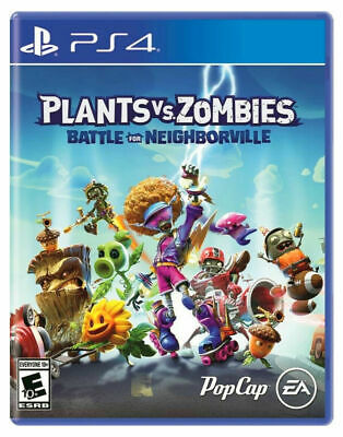 Playstation 4 Plants Vs Zombies Battle For Neighborville Brand New Sealed Ps4