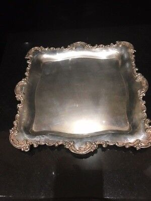Black Starr And Frost Sterling Tray 30 Troy Oz Mint