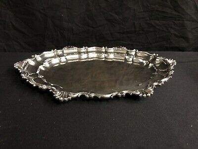 """Dominick And Haff Sterling Tray Over 29 Troy Oz 15"""" Long Pristine"""