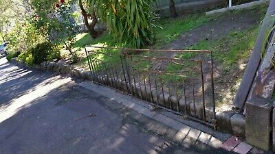 2 Wrought Iron Gates (Set)