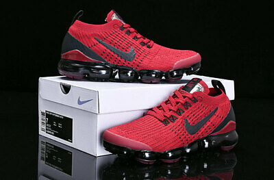 Nike Air Vapormax Flyknit 3 Red Movement Fitness Running shoe