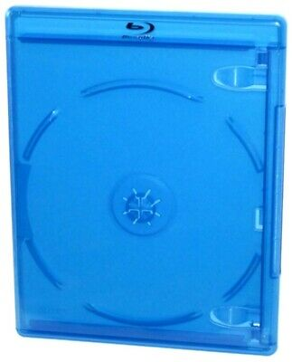 5-pack of Blu-ray Cases Double Disc HDTV HD DVD TV CD Blank Empty Blue Plastic