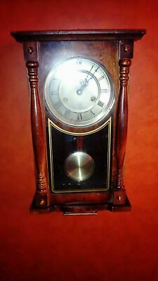 Lincoln 31 day wall clock with half-hour chime. Working, sale as is