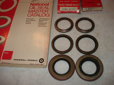 Front Wheel, Rear Inner & Outer Axle Seals 1964-1969 Dodge A-100