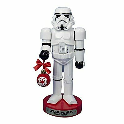 "Kurt Adler Star Wars Storm Trooper With Ball Ornament 10"" Christmas Nutcracker"
