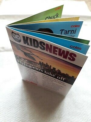 Coles Little Shop 2 EXCLUSIVE NEWSPAPER MINI COLLECTABLE (sealed) NEW Lmtd Edtn