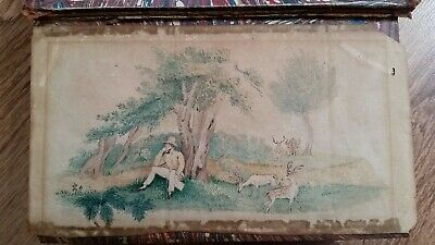 Maybe  A 19Th Century Small Pen And Ink Painting/ Drawing 166X90Mm