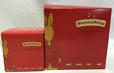 Royal Doulton Bunnykins Nursery Cereal Bowl & Two Handed Cup New in Boxes