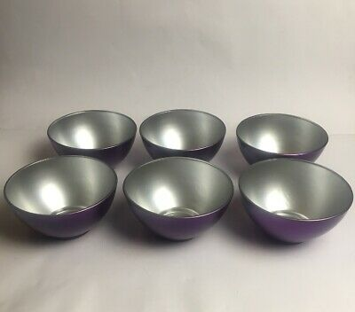 Luminarc Blueberry Flashy Colours Bowls Made In France