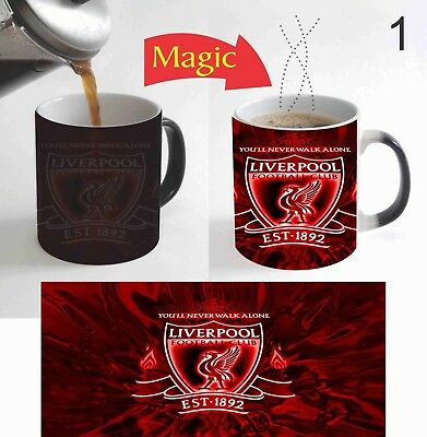 Liverpool Football Team Sport Magic Mug Color Change Coffee Mug  11 Oz for Gift