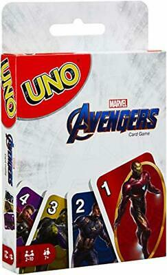 UNO Avengers Card Game Family Fun Playing cards Christmas Gift New