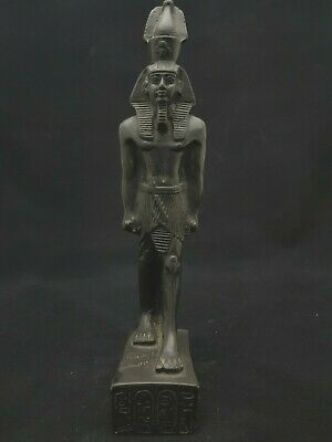 Rare Ancient Egyptian Antique Ramses Ii Statue Egypt Bazalt Stone 1279 - 1213 Bc