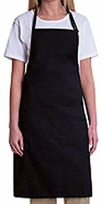 Bib Apron With 2 Waist Pockets-1 Piece Pack
