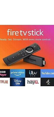 Amazon Fire TV Stick 3rd Generation With Alexa Voice Remote 2019 NEW Xmas Gift