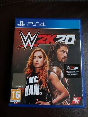 Wwe 2K20 Ps4 New