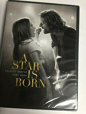 A Star is Born (DVD,2019,Widescreen)Bradley Cooper,Brand New Factory Sealed,USA!