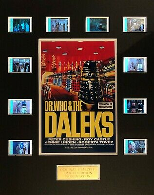Dr Who and the Daleks 35mm Film Display