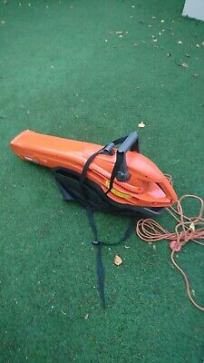 Flymo Garden Vac & bag/ Leaf Blower  2700W Turbo, electric. Used, working order