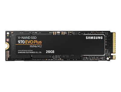 Samsung MZ-V7S250BW, 250GB 970 EVO Plus M.2 NVMe SSD, R/W(Max) 3,500MB/s/2,300MB