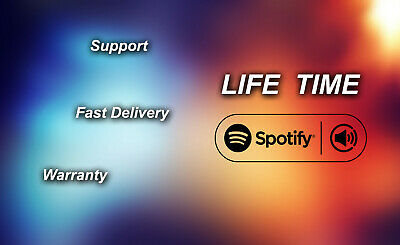 Spotify Premium | LIFE-TIME | WARRANTY | FAST DELIVERY|  Account Service Support
