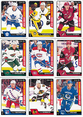 2016-17 Opc Complete Set 1-710 + Complete Playing Cards + Complete V Series C